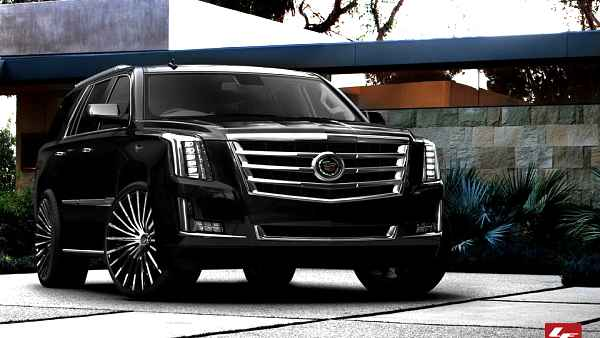 Escalade limo service Whistler British Columbia