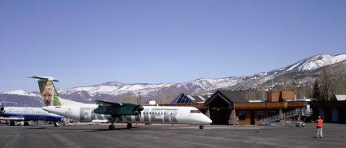 Private Jet crash in Aspen today.