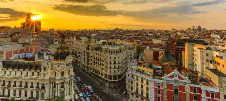 Madrid limos