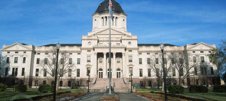 South Dakota Capital Building
